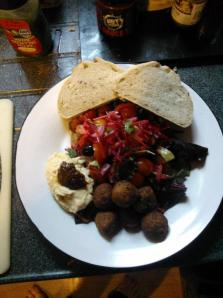 One of many tasty vegan meals from this year.